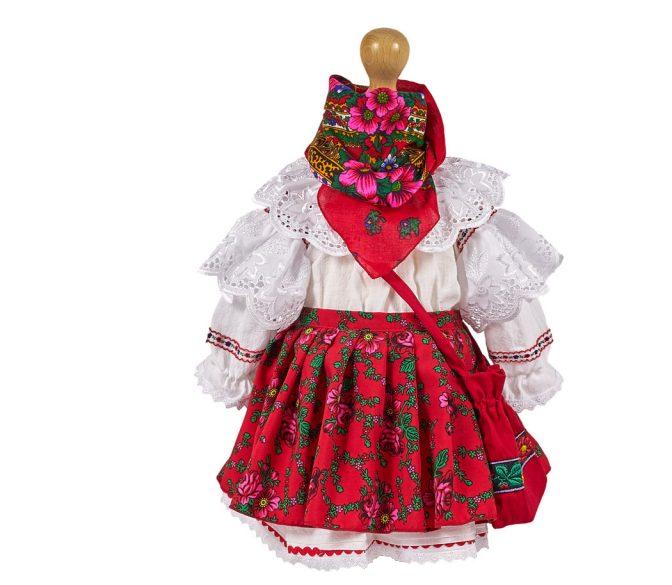 Costum national fetite cu traista, TinTin Shop [0]