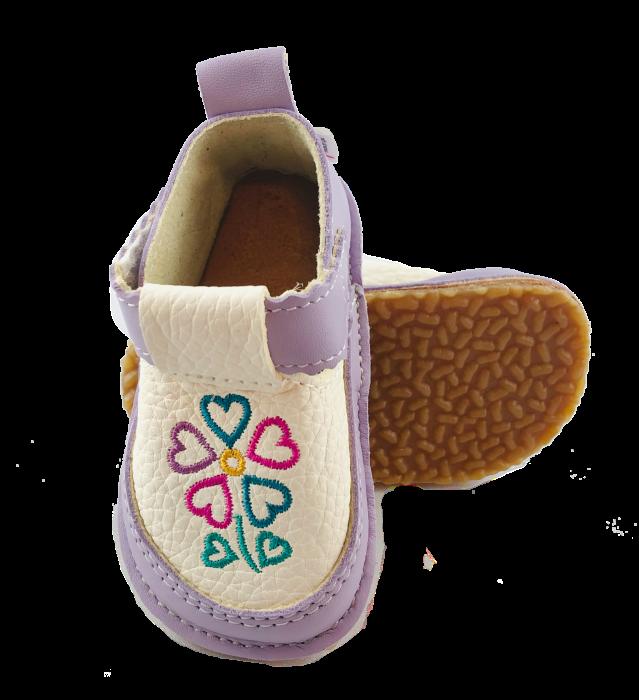 Pantofi Macco mov cu trifoi [0]