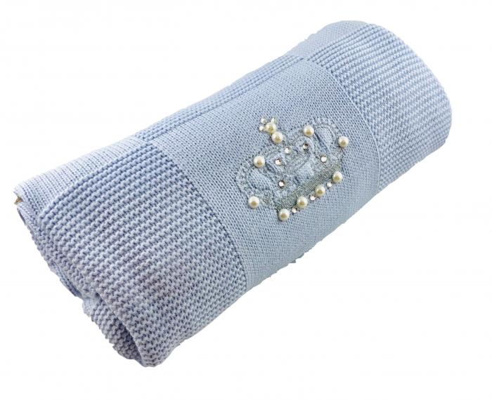 Patrura tricotata bebelusi bleu [0]