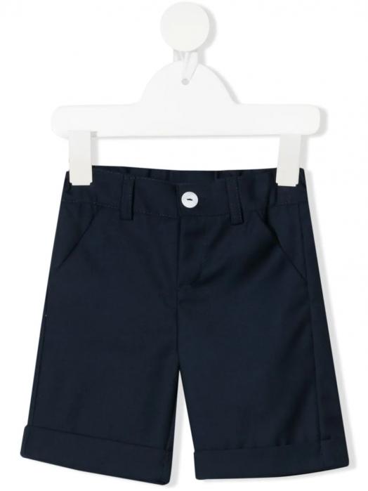 Pantaloni trei sferturi pentru baiat, bleumarin, TinTin Shop [0]