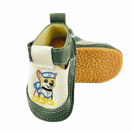 Pantofi verde inchis cu Chase, Macco [0]