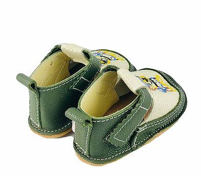 Pantofi verde inchis cu Chase, Macco [1]