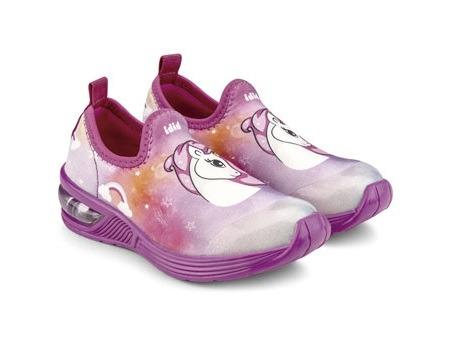 Pantofi Fete LED Bibi Space Wave 2.0 Unicorn Degrade [2]