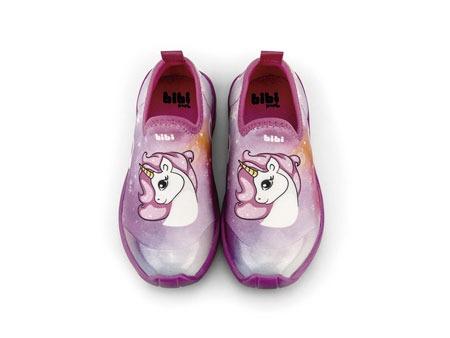 Pantofi Fete LED Bibi Space Wave 2.0 Unicorn Degrade [1]