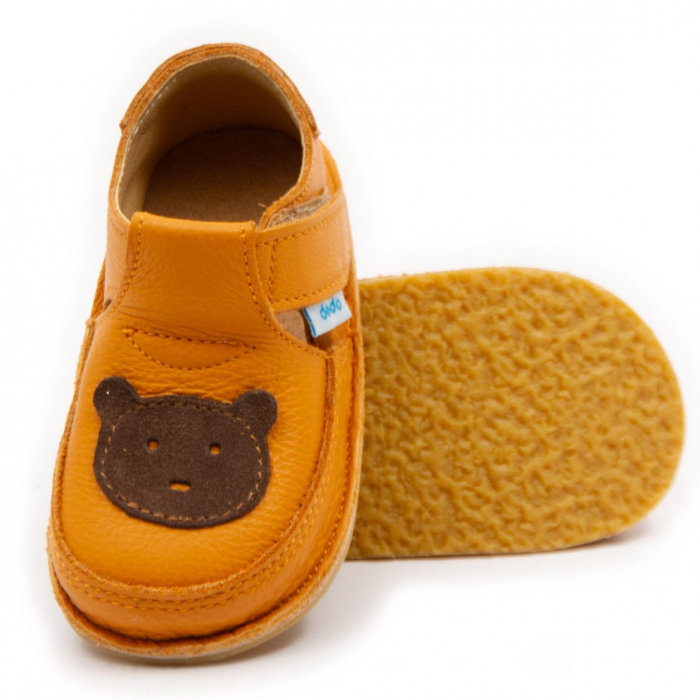 Pantofi mandarin cu ursulet, Dodo Shoes 0