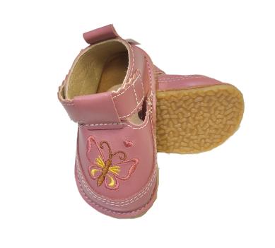Pantofi roz cu fluture, Macco 0