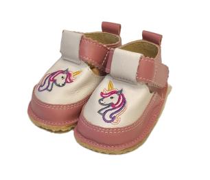 Pantofi roz cu ponei, Macco 1