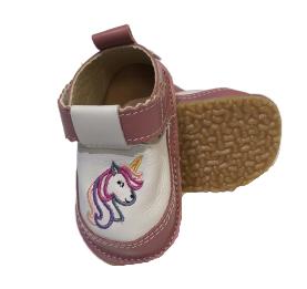 Pantofi roz cu ponei, Macco 0
