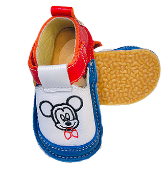 Pantofi multicolori cu Mickey, Macco 0