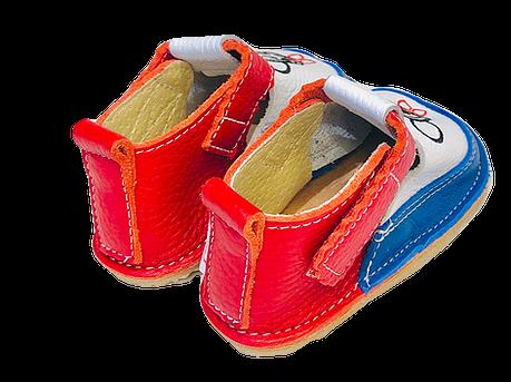Pantofi multicolori cu Mickey, Macco 1
