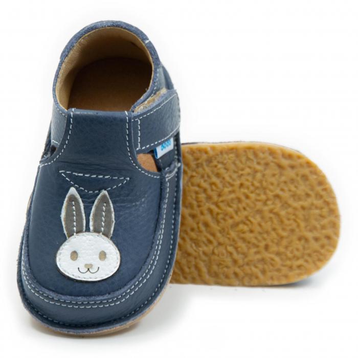 Pantofi smokey cu iepuras, Dodo Shoes 0