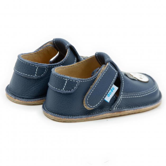 Pantofi smokey cu iepuras, Dodo Shoes 2