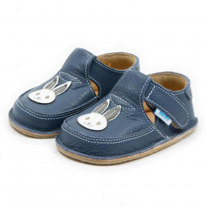 Pantofi smokey cu iepuras, Dodo Shoes 1