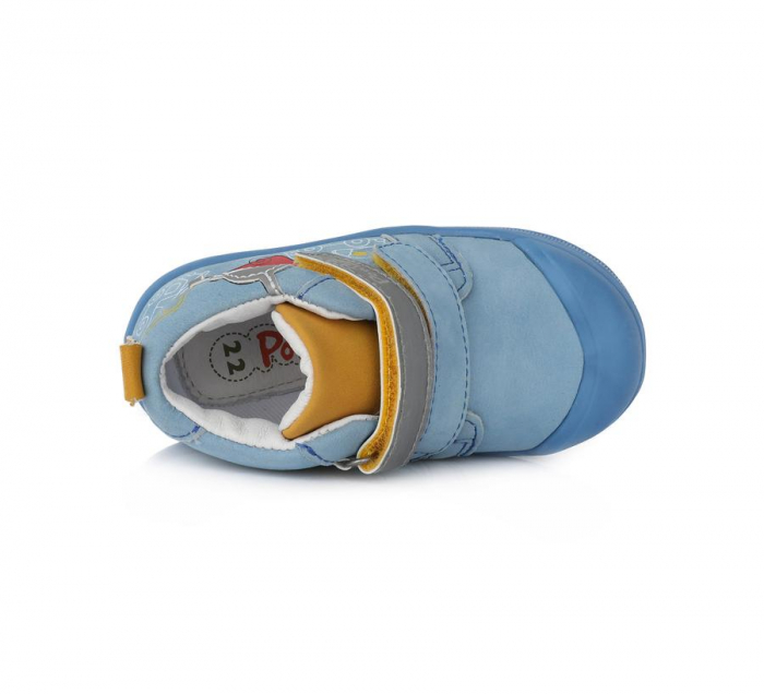 Pantofi sport albastri cu elemente reflectorizante D.D.Step - Ponte 20 3