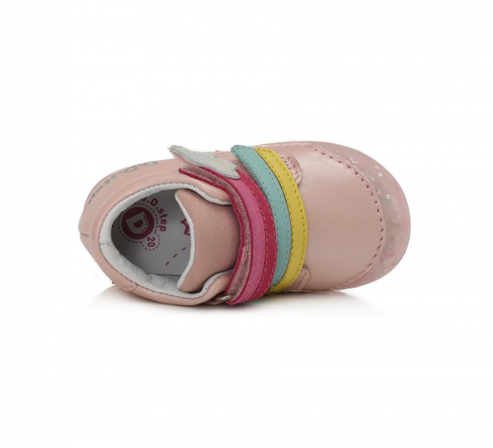 Pantofi sport roz curcubeu D.D.Step 066-9A [2]