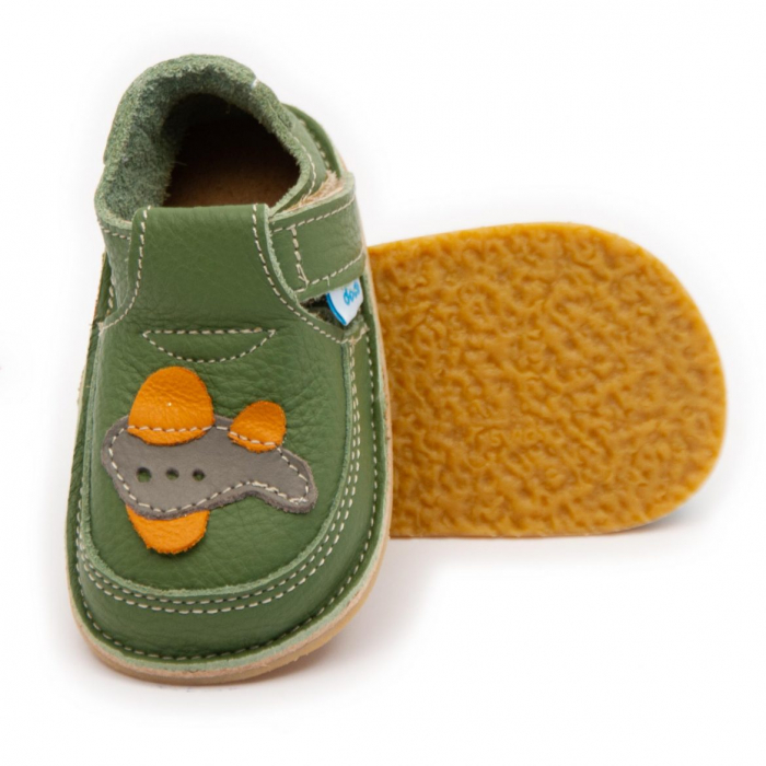Pantofi verzi cu avion, Dodo Shoes 0