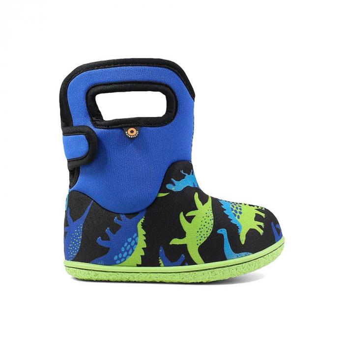 Cizme impermeabile copii, BOGS FOOTWARE, Dino Blue [0]