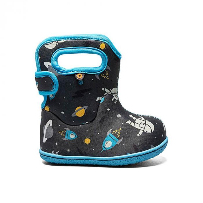 Cizme impermeabile copii, BOGS FOOTWARE, Space Man Gray Multi [0]