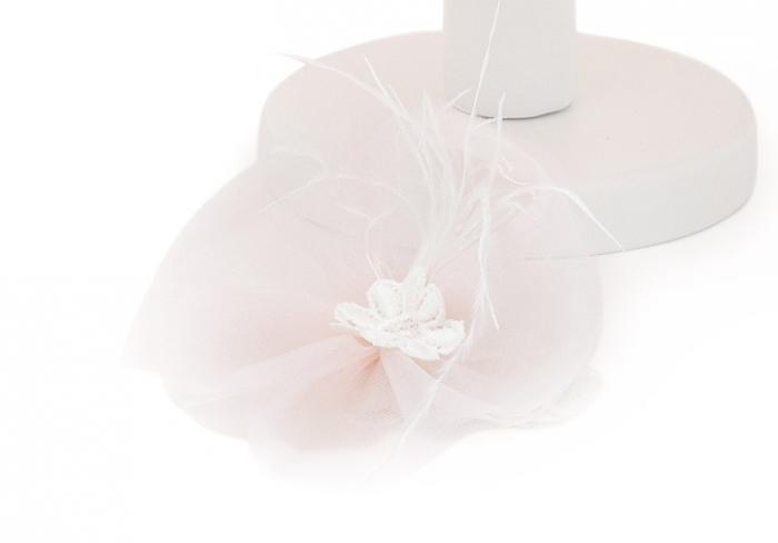 Rochie de Botez pentru Fetite, stil Printesa, roz pudra, TinTin Shop [3]
