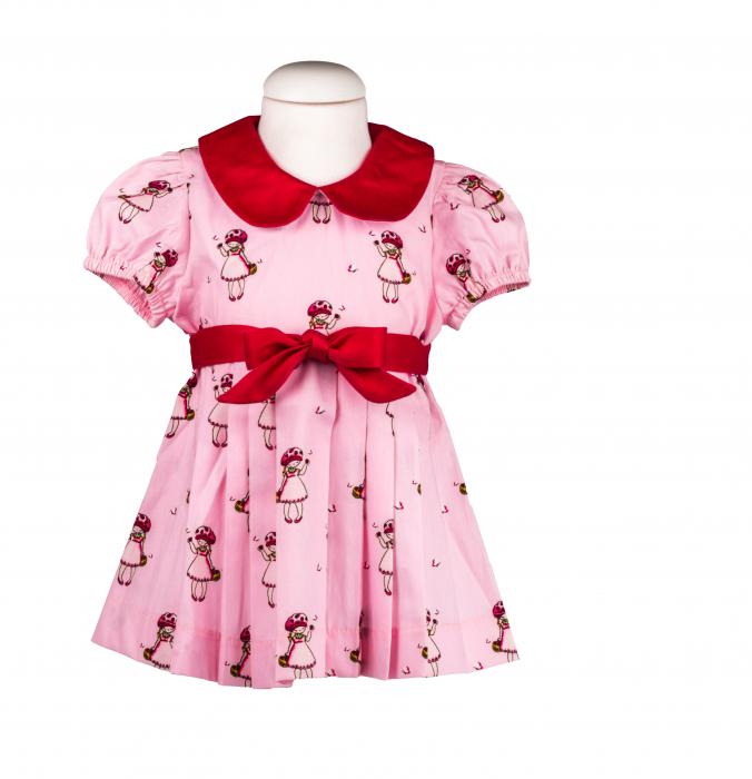 Rochie fete roz, TinTin Shop 0
