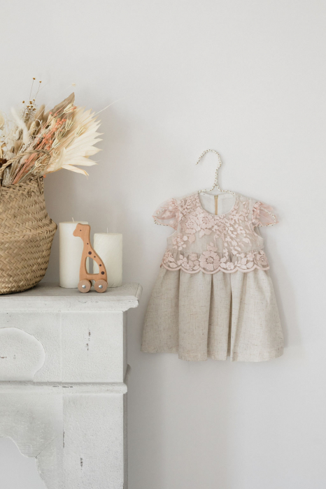 Rochie In cu Flori TinTin Shop [1]