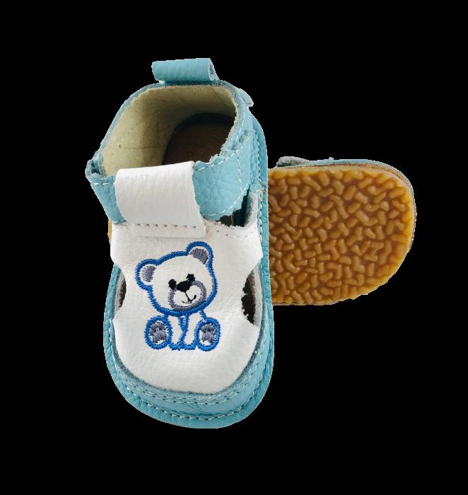 Sandale Macco ursulet albastru [0]