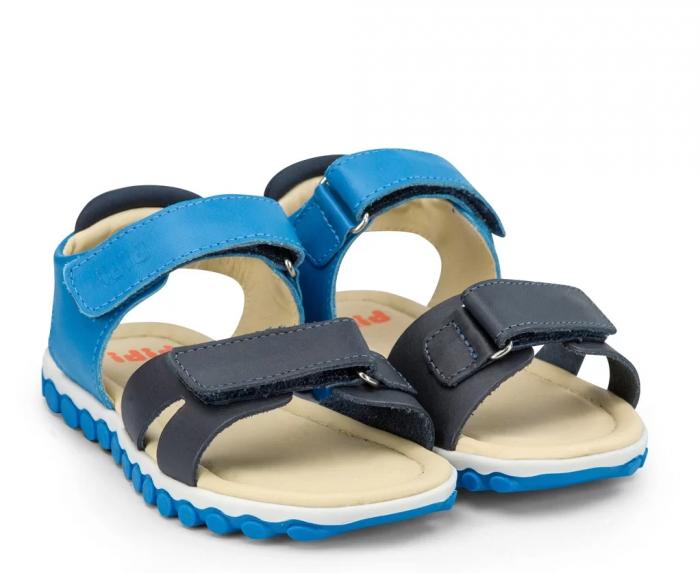Sandale Baieti Bibi Summer Roller New II Aqua [0]