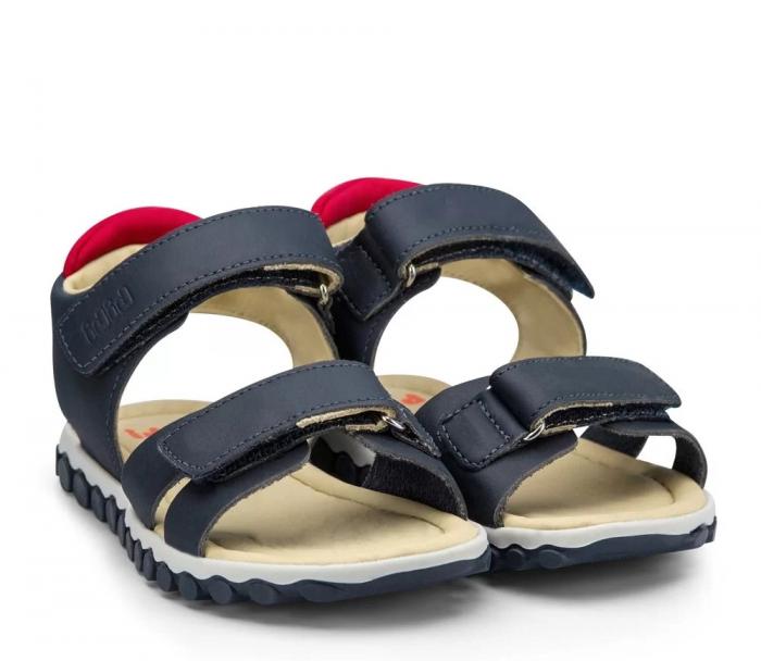 Sandale Baieti Bibi Summer Roller New II Naval/Red [0]