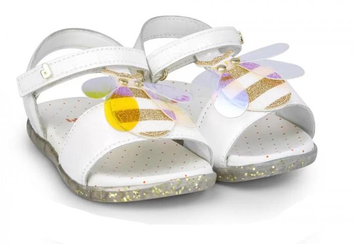 Sandale fete Bibi Baby Soft Bee 0