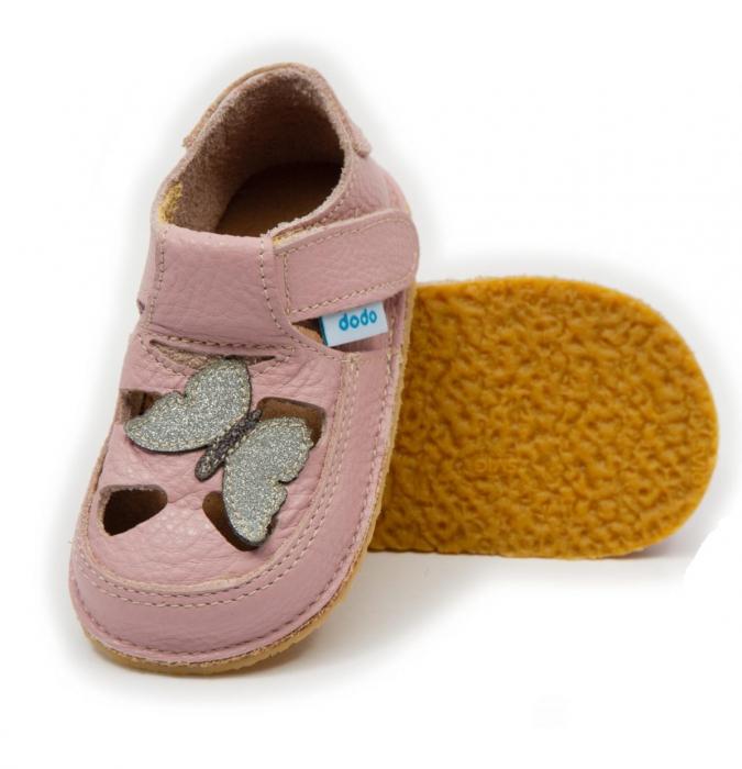Sandale cameo cu Fluturas, Dodo Shoes 0
