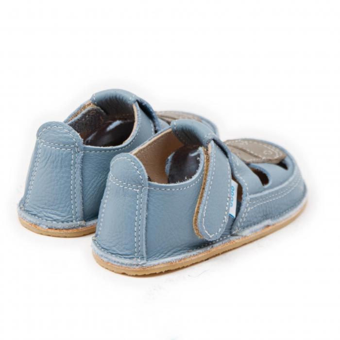Sandale copii Baby Blue cu Girafa, Dodo Shoes 2