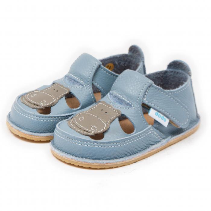 Sandale copii Baby Blue cu Hipo, Dodo Shoes [2]