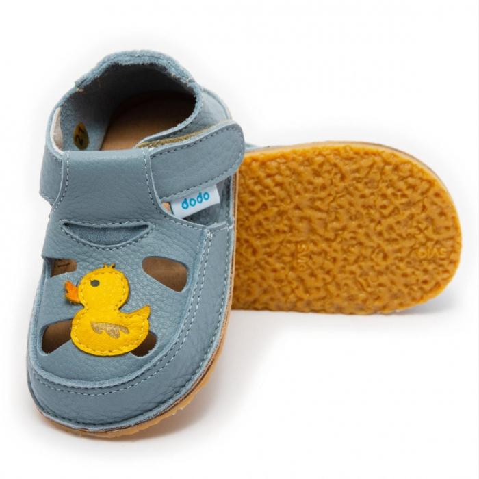 Sandale baby blue cu rata, Dodo Shoes 0