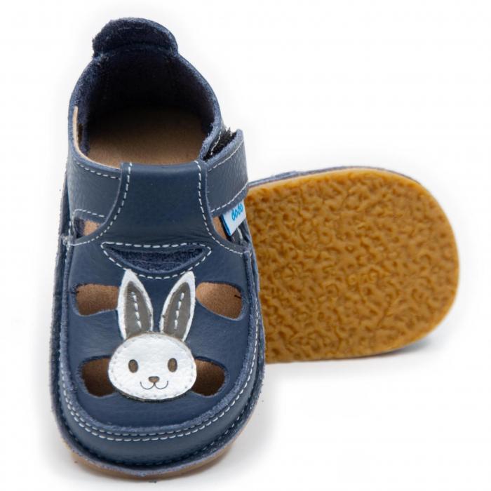 Sandale copii Smokey cu Iepuras, Dodo Shoes 0
