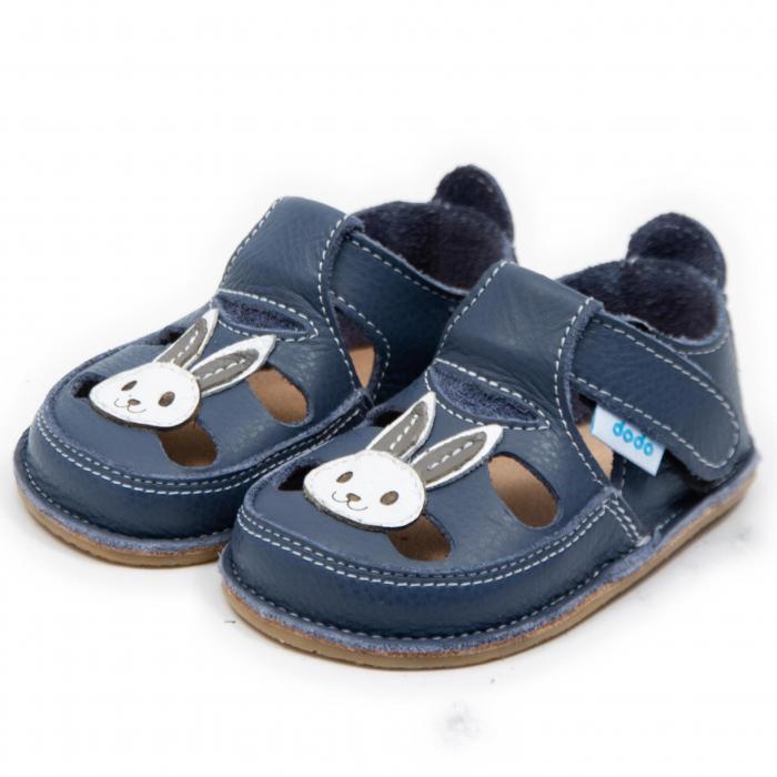Sandale copii Smokey cu Iepuras, Dodo Shoes 1