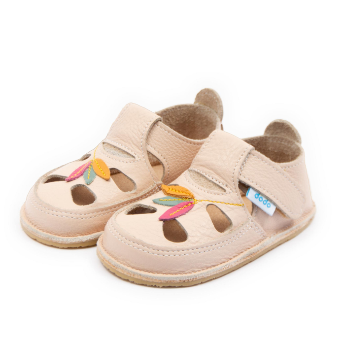 Sandale copii crem Tulip, Dodo Shoes 1