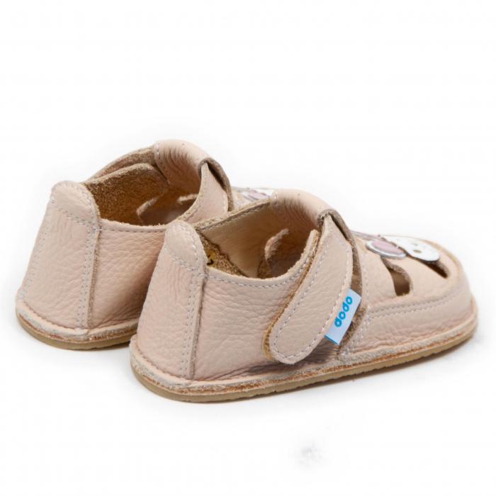 Sandale crem cu iepuras, Dodo Shoes 2