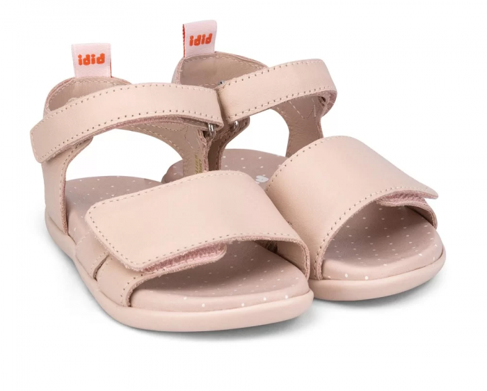 Sandale fete Bibi Baby Soft Camelia Velcro 0