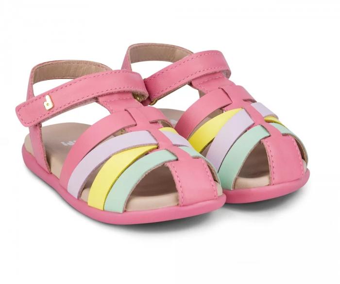 Sandale fete Bibi Baby Soft Cherry [0]