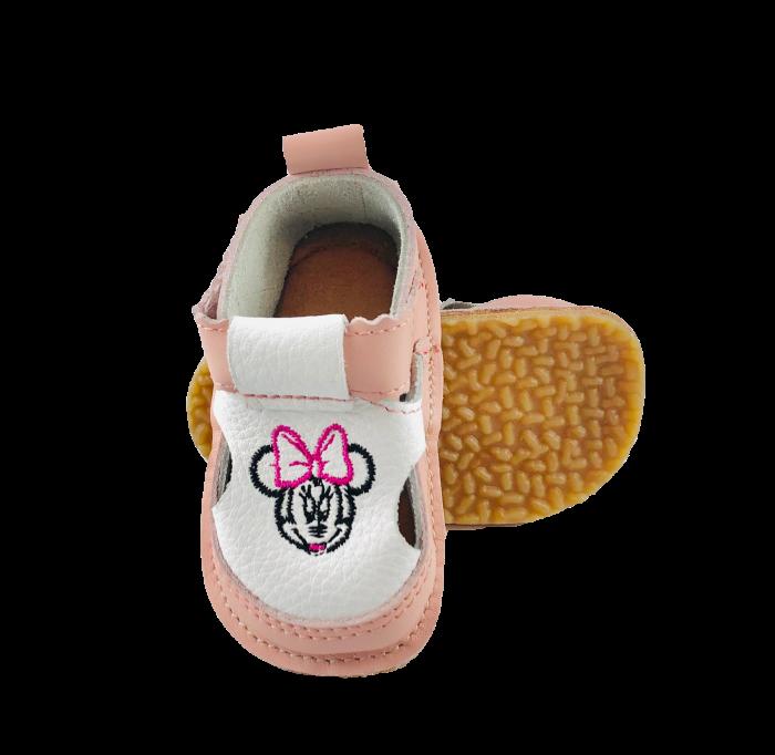Pantofi Macco roz cu Minnie 0