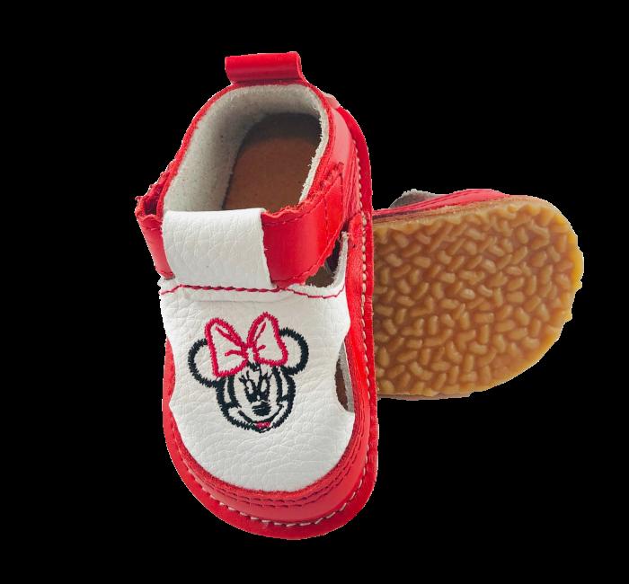 Sandale Macco rosii cu Minnie [0]