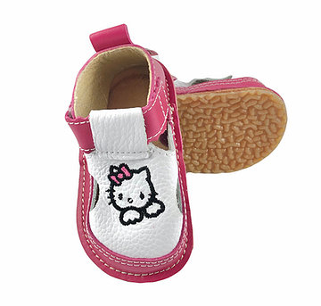 Sandale roz zmeura cu Hello Kitty, Macco 0