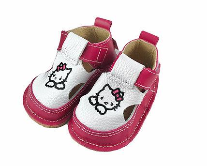 Sandale roz zmeura cu Hello Kitty, Macco 1