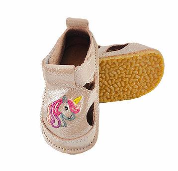 Sandale aramii glitter cu ponei, Macco 0