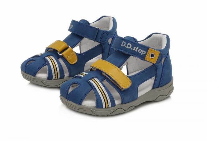 Sandale pentru Baieti de Culoarea Albastru, D.D.Step 1