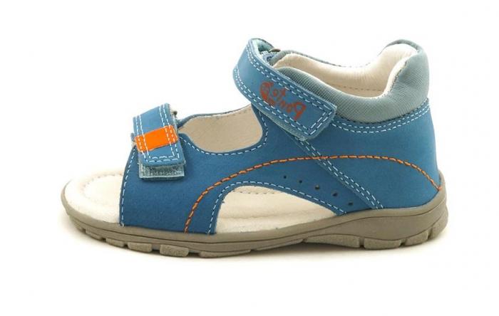 Sandale pentru Baieti de Culoarea Sky Blue, D.D.Step 0