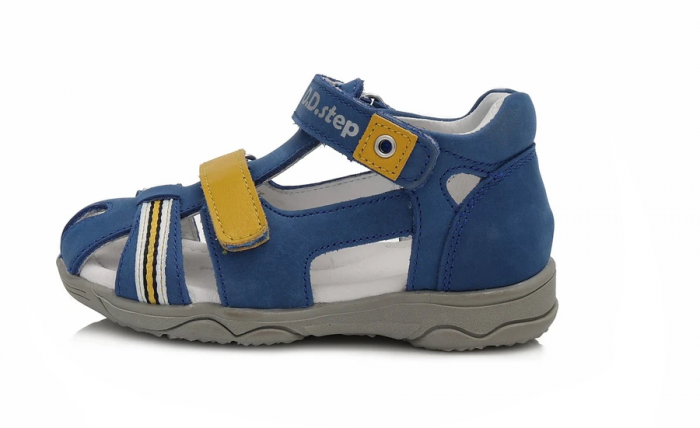 Sandale pentru Baieti de Culoarea Albastru, D.D.Step 0