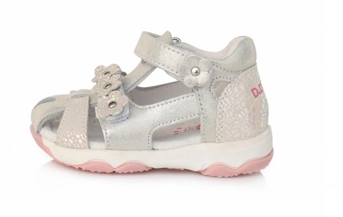 Sandale pentru Fete de Culoarea Roz cu flori, D.D.Step [0]