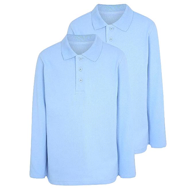 Set 2 bluze polo maneca lunga copii, TinTin Shop [0]