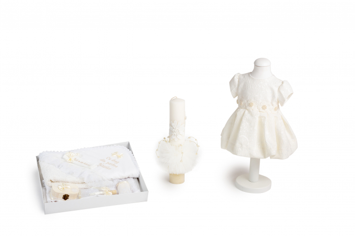 rochie botez alba cu trena [0]
